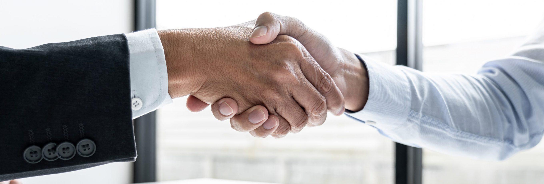 HR & Recruitment Handshake Imagery