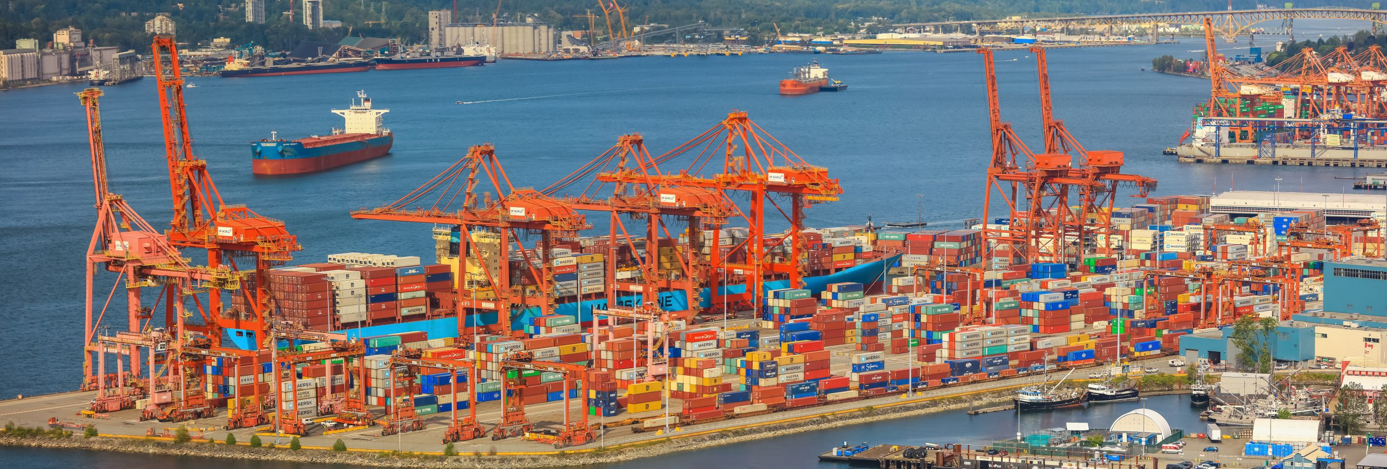 Vancouver's Supply Chain, Logistics & Operations Recruiters- Vancouver Port Imagery