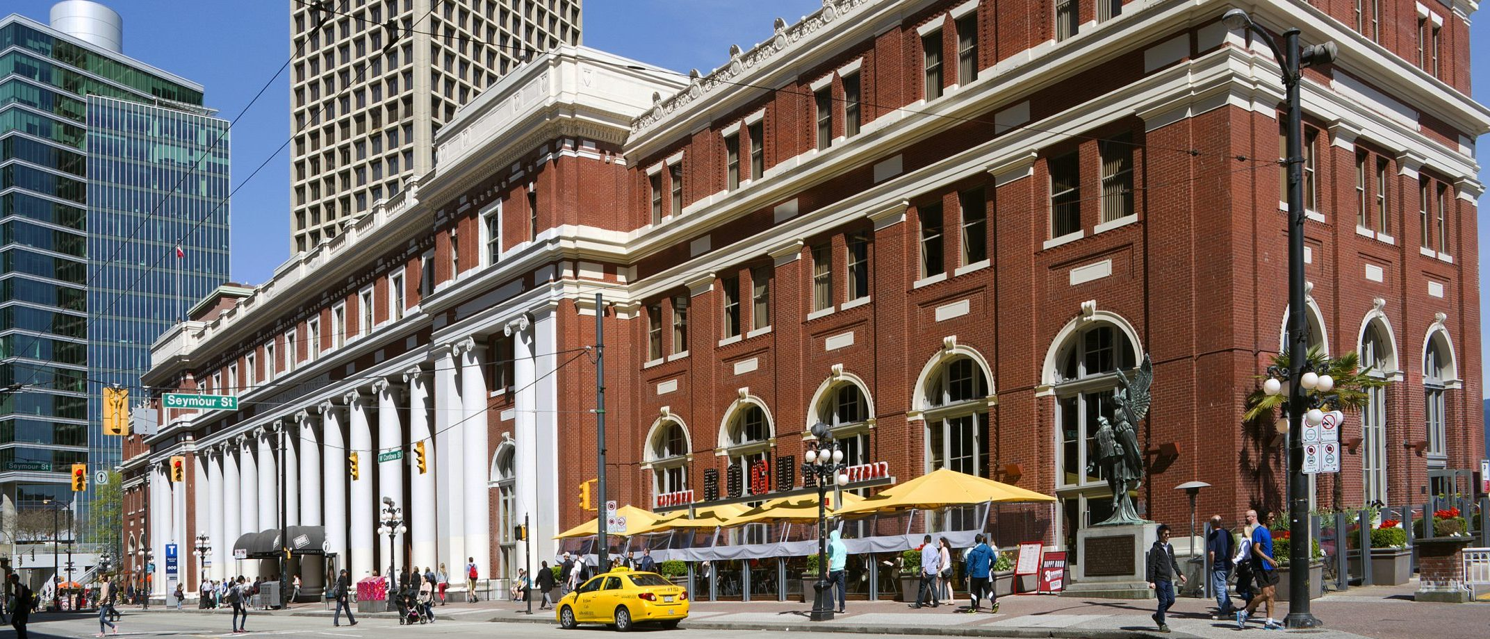 Header Image Contact Page Of Waterfront Station Building
